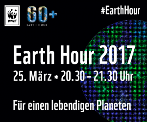 Key Visual der Earth Hour Frankfurt am Main 2017