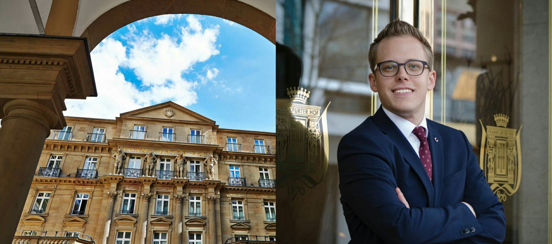 Steigenberger Frankfurter Hof: Andre Burkhard ist der neue Marketing Manager