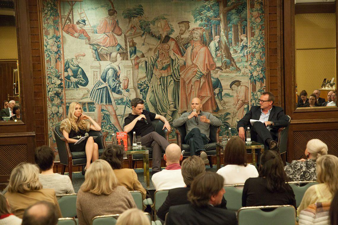Bestsellerautoren Marc Friedrich und Matthias Weik sprachen über Kapitalfehler im Steigenberger Frankfurter Hof