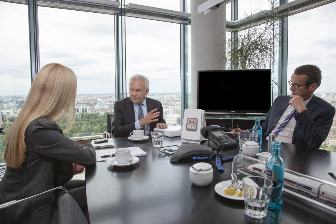 Deutsche Bahn-CEO Rüdiger Grube: Ich will gewinnen. Und gewinnen beginnt im Kopf.