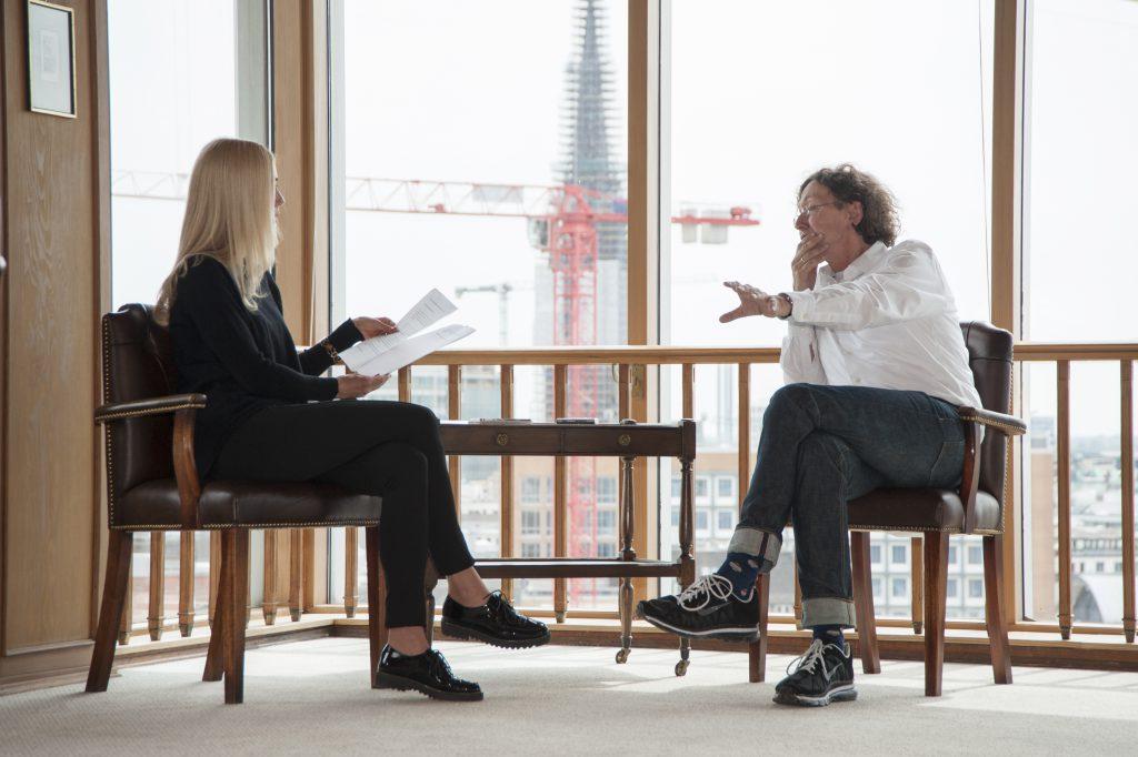 Klaus Boldt im Interview mit Jane Uhlig