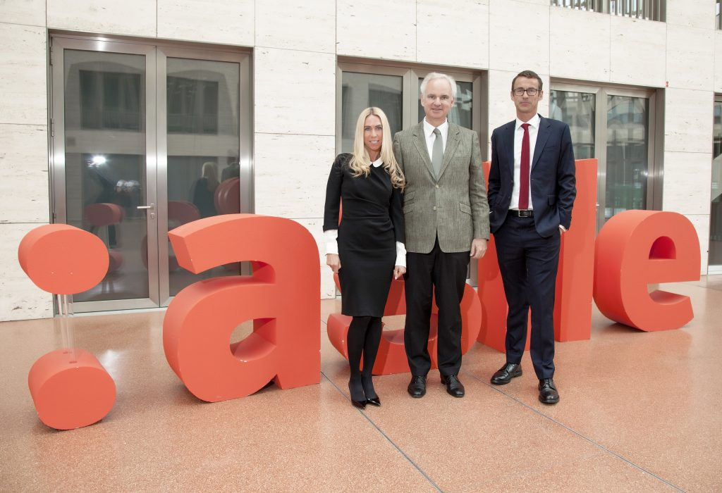 von links Jane Uhlig, Dr. Johannes Teyssen, Kai Anderson (Foto: Laslo Dani)