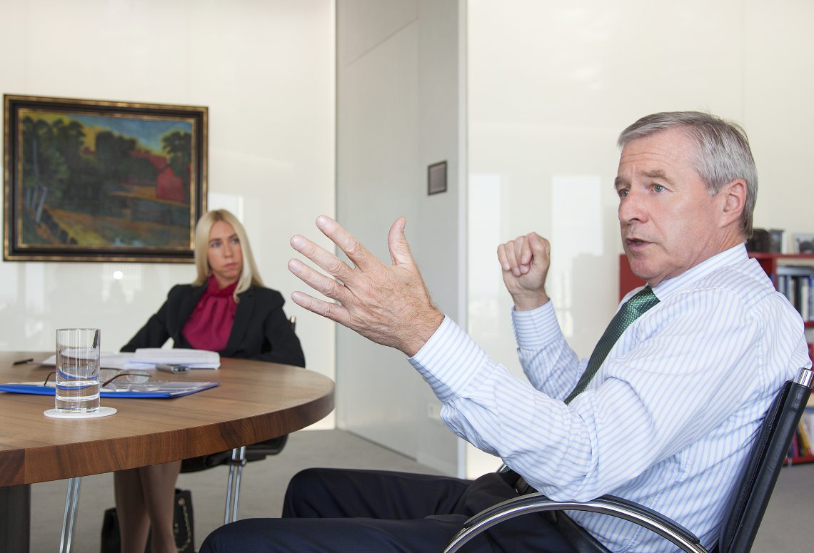 Jürgen Fitschen: Vertrauen kann nur entstehen, wenn auch Verständnis für die Rolle der Banken da ist