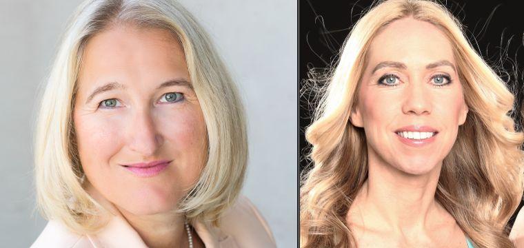 Heidi Stopper, Jane Uhlig die Autorinnen in Blondinen im Management