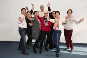 Teilnehmer der Erlebnis Sprachschule Rodgau mit Sprach Coach Monika Cuzma