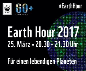 Key Visual der Earth Hour Frankfurt am Main 2017