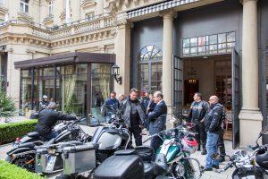 Foto: Impressionen vom Motorradfrühstück im Steigenberger Frankfurter Hof.