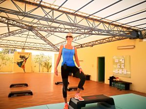 Jane Uhlig coacht mit mentalem Training Teilnehmer auf der Insel Djerba im Aldiana Club