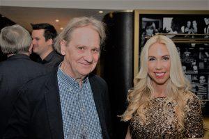 Rainer Gefeller, ehemaliger Chefredakteur FNP und Buchautor, mit Jane Uhlig