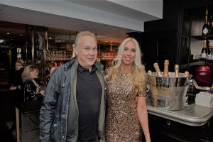 RTL-Journalist Jens Prewo mit Jane Uhlig