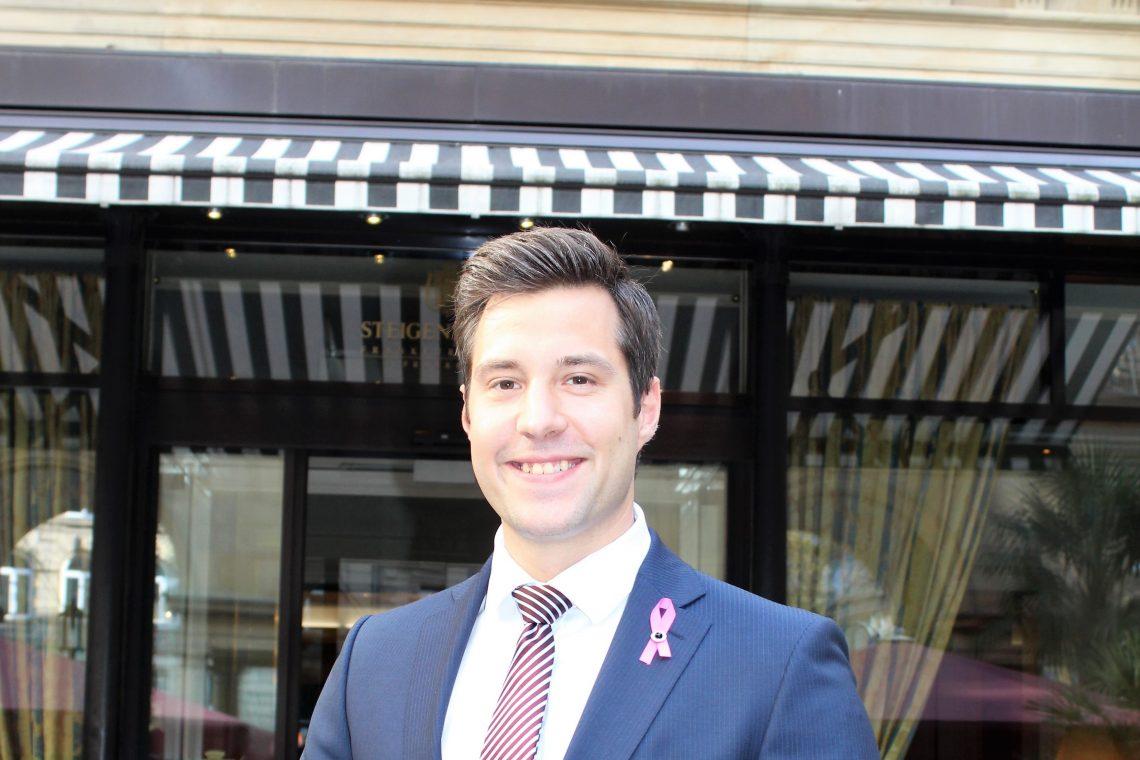 Steigenberger Frankfurter Hof: Felix Riedl ist neuer Food & Beverage Manager
