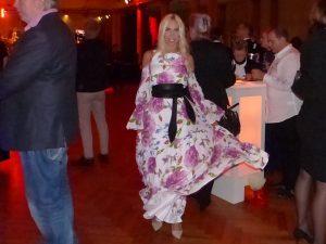 Jane Uhlig amüsierte sich au dem LOVEBALL-Frankfurt