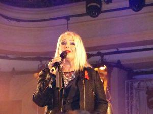 Sängerin Kim Wilde sang auf dem LOVEBALL-Frankfurt