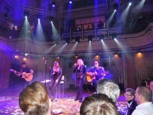 Stargast Kim Wild sang auf dem LOVEBALL-Frankfurt