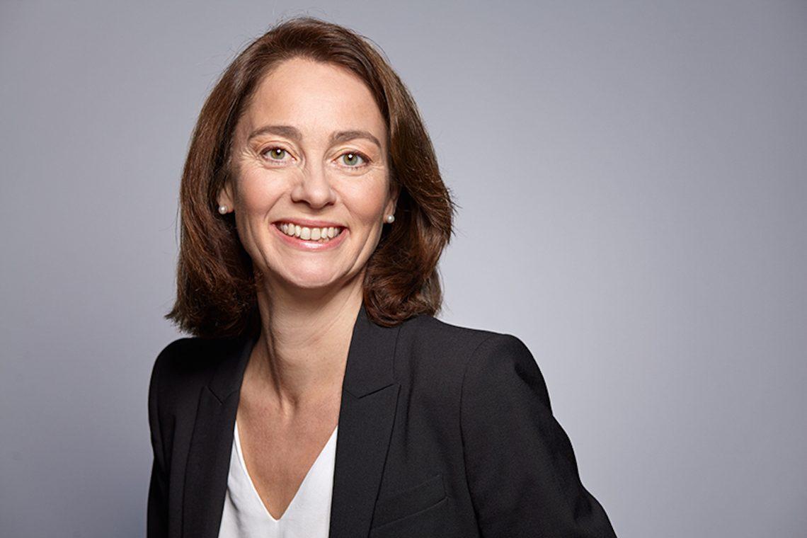 """Bundesfamilienministerin Katarina Barley. """"Frauen können und wollen im Berufsleben alles erreichen"""""""