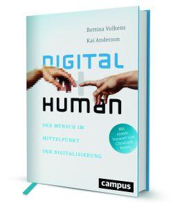Digital human (Campus), von Bettina Volkens und Kai Anderson