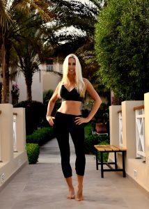 Body-Trainerin und Zumba Trainerin Jane Uhlig