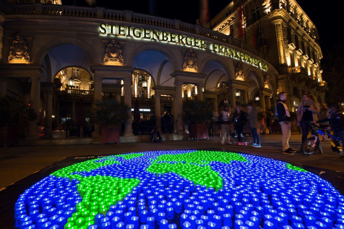 Steigenberger Frankfurter Hof und das Energiereferat laden zur Earth Hour Party am 24. März 2018 ein