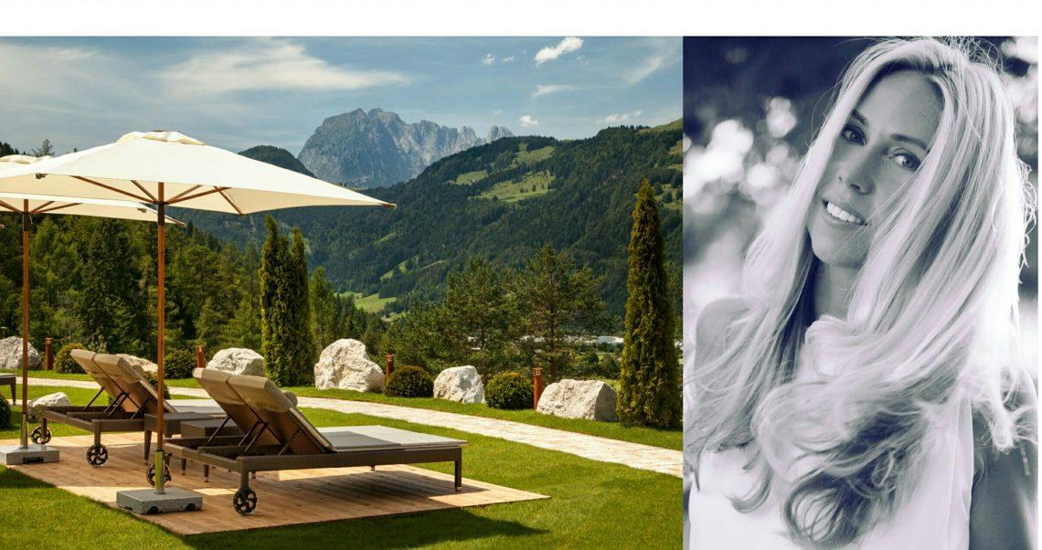 Lifestyle-Bloggerin Jane Uhlig als Gasttrainerin im Fünf-Sterne Luxushotel Lärchenhof
