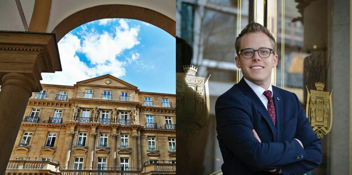 Steigenberger Frankfurter Hof: Andre Burkhard ist der neue Marketing Manager