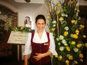Hoteldirektorin Melissa Mathé