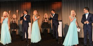 Sängerin Beata Beatz wurde interviewt von dem Moderatorenteam Jane Uhlig und Madjid Hamadouchi