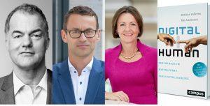 Otto-Vorstand Rainer Hillebrand, Promerit-Vorstand Kai Anderson, Lufthansa-Vorstand Bettina Volkens