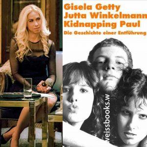 Jane Uhlig begrüßt Buchautorin Gisela Getty