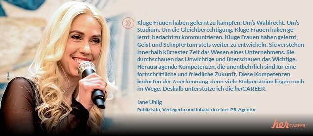 HerCAREER München Athors-MeetUP I Moderation Jane Uhlig I Messe