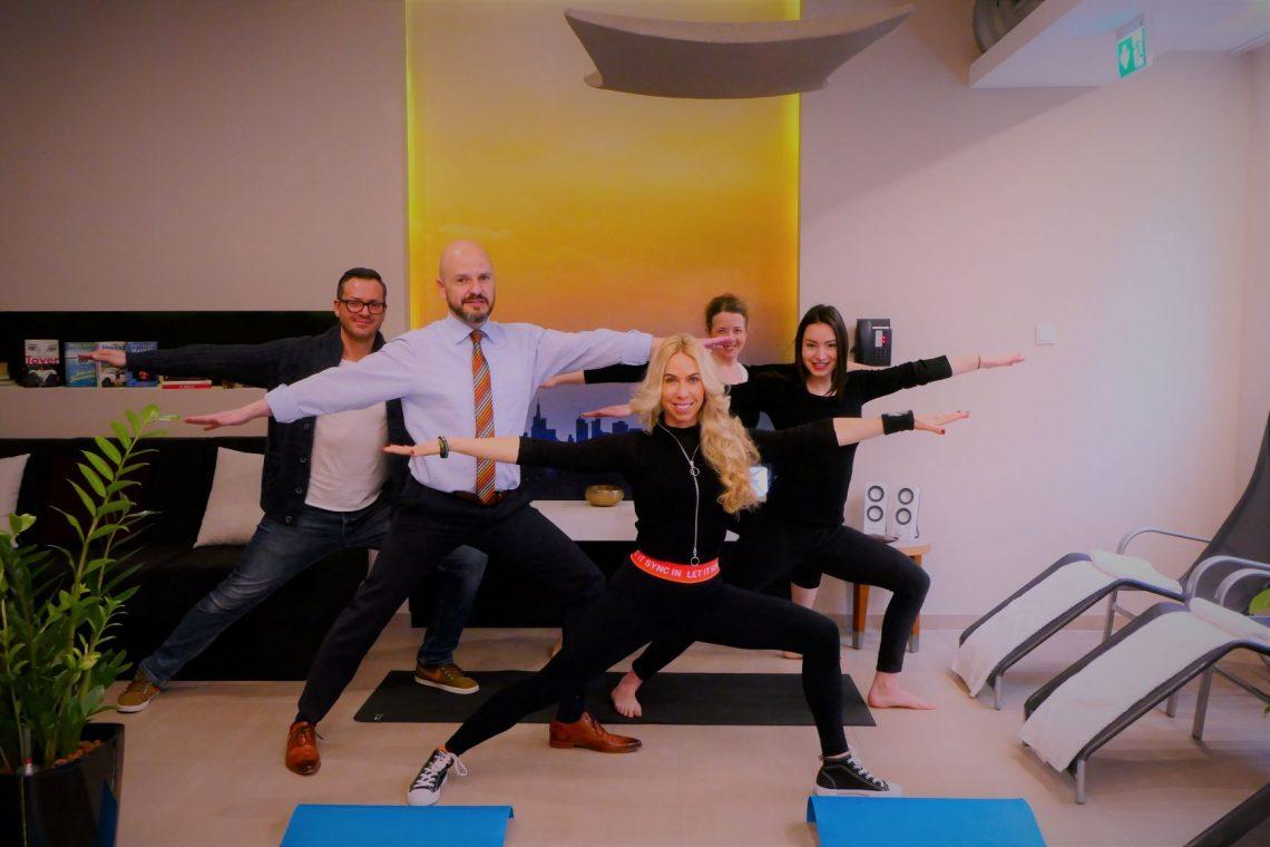 Best Western Premier IB Hotel Friedberger Warte präsentiert neue Wellness-Erholungsoase für Stressgeplagte mit Yoga-Trainings
