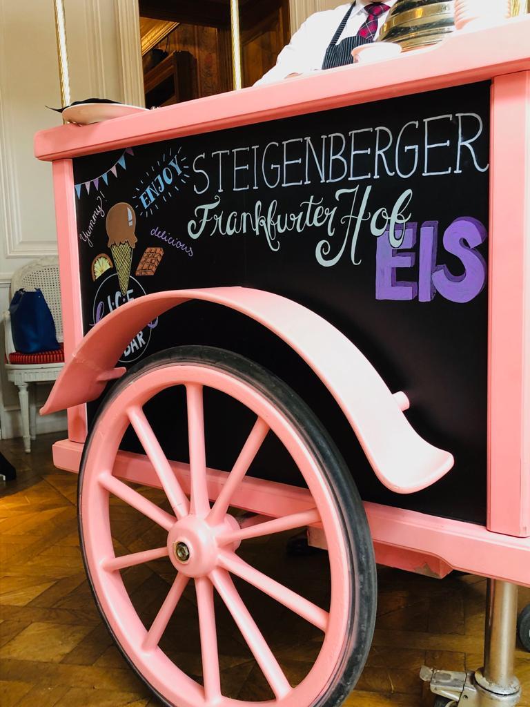 Steigenberger Frankfurter Hof: Holger Flory und Raoul Hölzle präsentierten Frankfurter Hof-Eis I Podcast