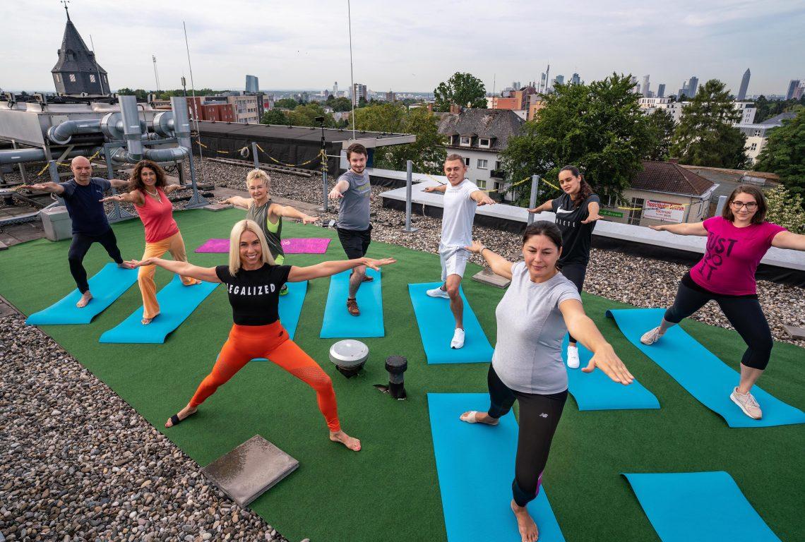 Yoga-Einladung ins Best Western Premier IB Hotel Friedberger Warte : Yoga mit Jane Uhlig