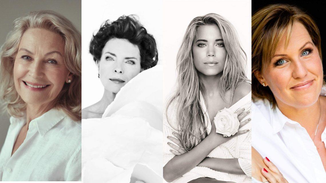 Steigenberger Frankfurter Hof: Carla von Bergmann, Gudrun Landgrebe, Sylvie Meis und Nicole Staudinger eröffnen Brustkrebsmonat Oktober