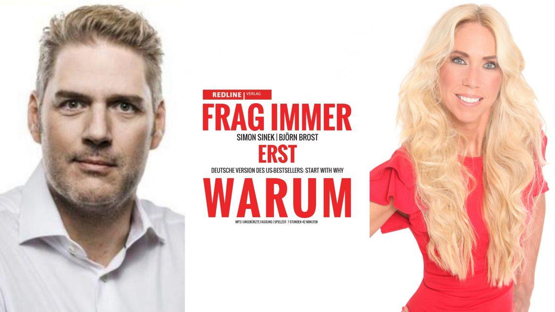 Steigenberger Frankfurter Hof: Einladung Autorengespräch mit Teleshopping-Star Björn Brost  Frag immer erst Warum