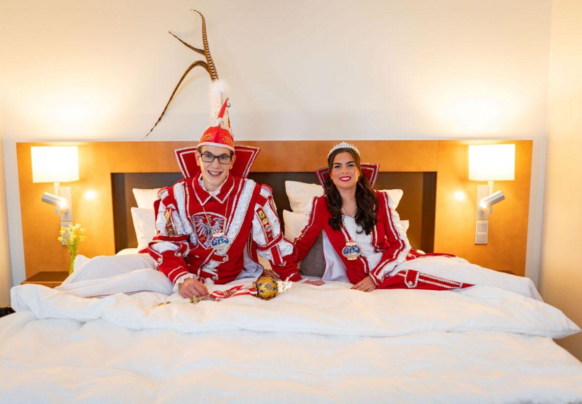Frankfurter Prinzenpaar zu Gast im Best Western Premier IB Hotel Friedberger Warte