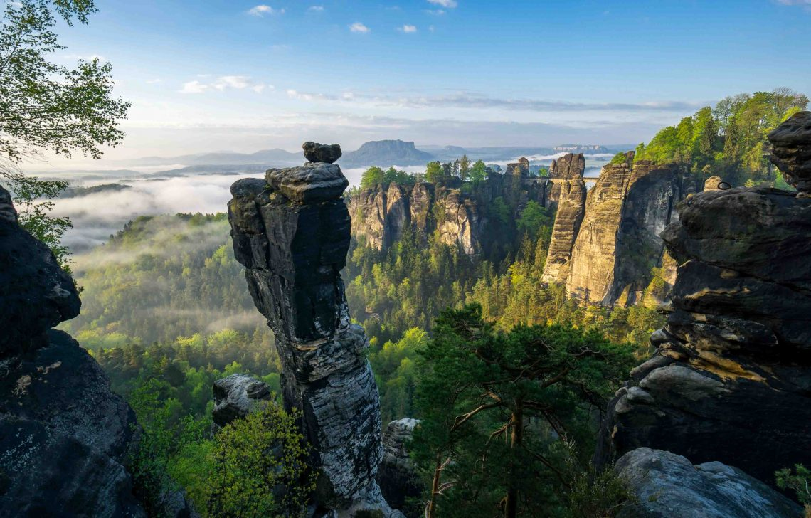 Sächsische Schweiz: Wanderbroschüre neu aufgelegt