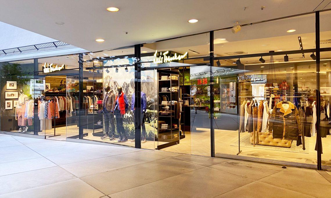 Neueröffnung im CityQuartier FÜNF HÖFE: der neue Flagshipstore des Südtiroler Fashion- und Lifestyle-Labels Luis Trenker