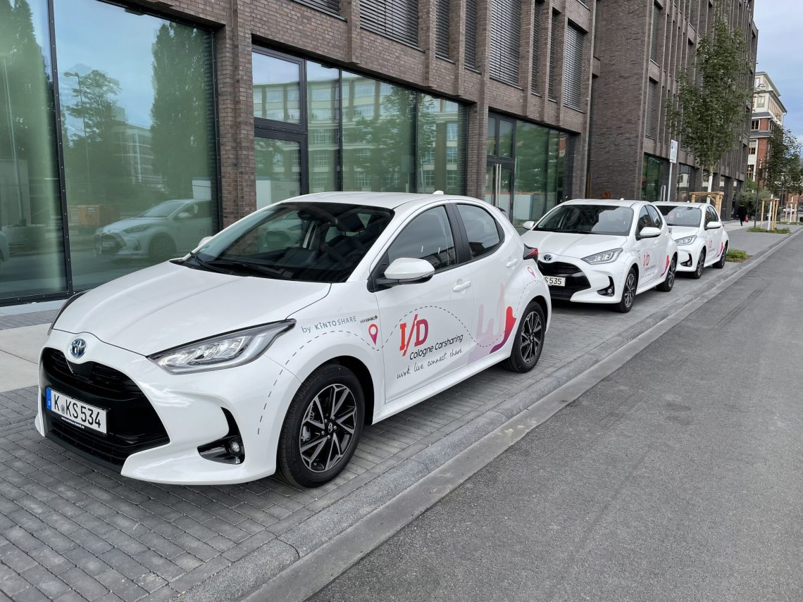 Quartiersstandort I/D Cologne gewinnt Toyotas Mobilitätsmarke KINTO