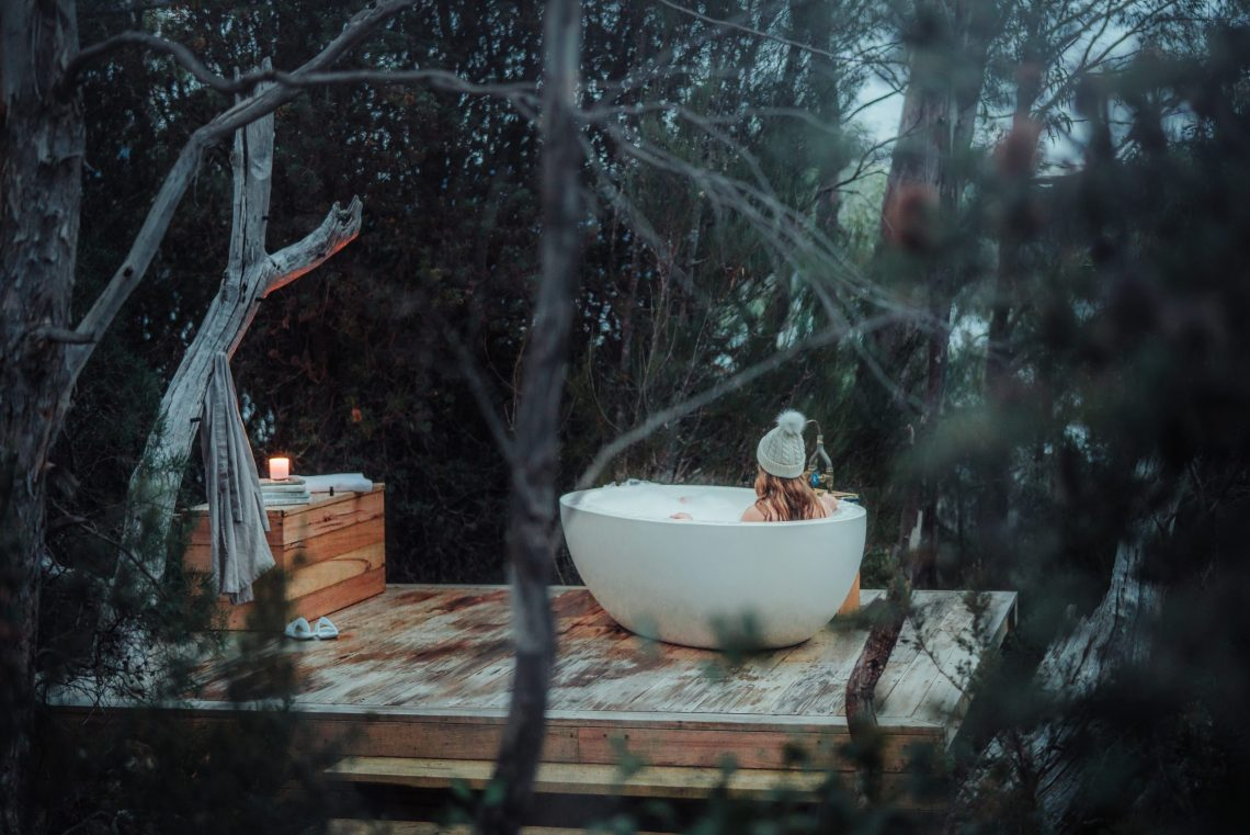 Die sieben schönsten Outdoor Badewannen am anderen Ende der Welt